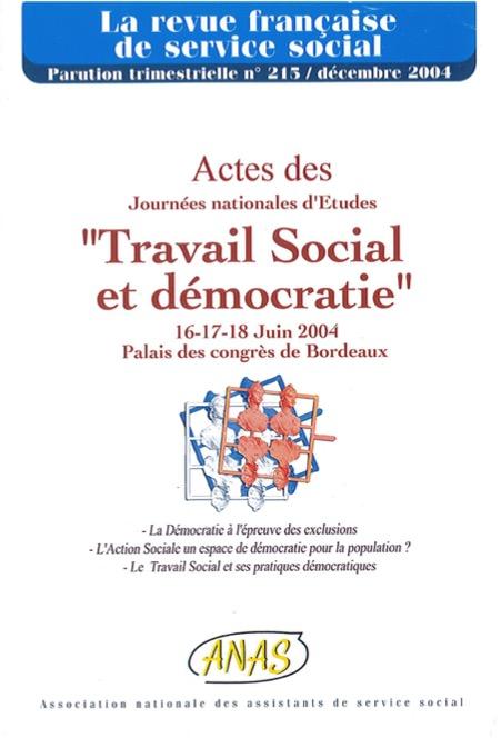 Et si nous nous réintérrogions sur les liens entre le travail social et la démocratie ?