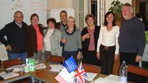 L'ANAS a accueilli une délégation de travailleurs sociaux du Royaume-Uni  représentant l'association professionnelle BASW. (British Association of Social Workers)