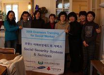 L'ANAS et la FITS ont accueilli à Paris une délégation d'assistants sociaux coréens