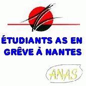 les étudiants as en grève à Nantes