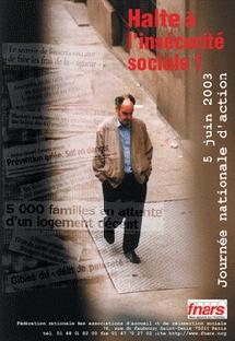 Halte à l'insécurité sociale.