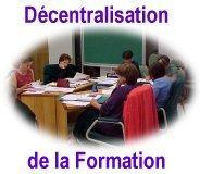 Décentralisation de la formation des travailleurs sociaux