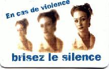 Pour  l'élimination de la Violence contre les Femmes