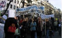 pour le droit au logement : manifestation des travailleurs sociaux le 13 mars