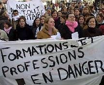 Projet de loi sur la prévention de la délinquance : Appel à manifestation de la profession 17 mars