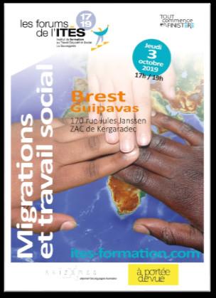 3/10/2019 - Brest - Conférence intitulée Migrations et travail social