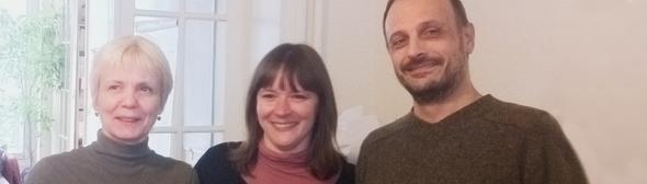 De gauche à droite : Françoise LEGLISE, Elsa MELON, Laurent PUECH