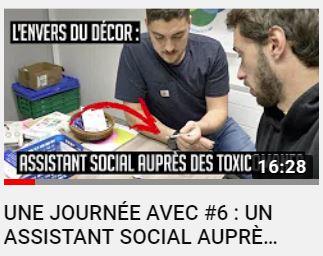 [Vidéo] Une journée avec #6 : un assistant social auprès des toxicomanes
