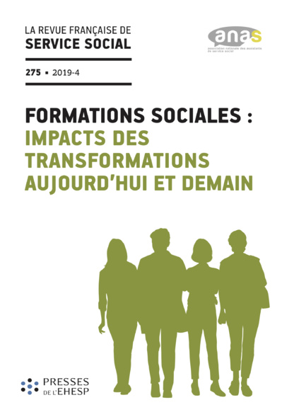 "RFSS N°275 : ""Formations sociales : impacts des transformations aujourd'hui et demain"""