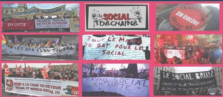 4e rencontres du travail social en lutte - Réunion en ligne le 21/03/2020 de 14h à 16h30