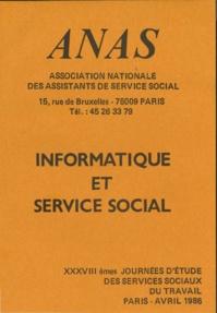 Informatique et service social - Avril 1986
