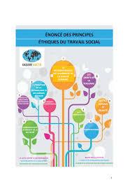 Énoncé des principes éthiques du travail social