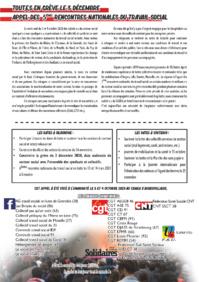 Appel des 5èmes rencontres nationales du travail social en lutte