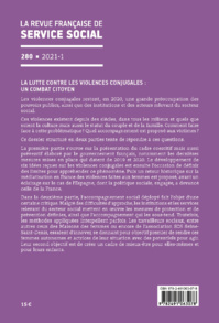 """RFSS N°280 : """"La lutte contre les violences conjugales : Un combat citoyen"""""""