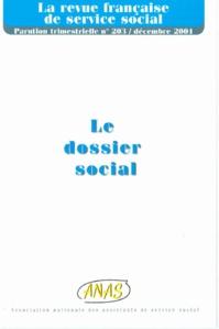 "RFSS N°203 : ""Le dossier social"""
