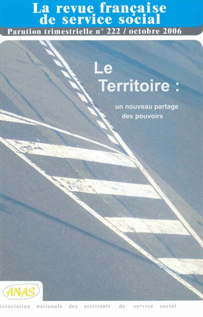 """RFSS N°222 : """"Le Territoire un nouveau partage des pouvoirs"""""""