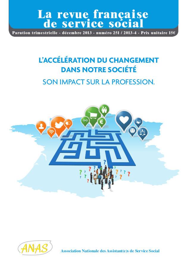 """Extrait RFSS n°251: """"L'accélération du changement dans notre société: son impact sur la profession"""""""
