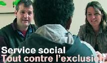 'Service social, Tout contre l'exclusion: Qui sont les professionnels de la détresse ?'