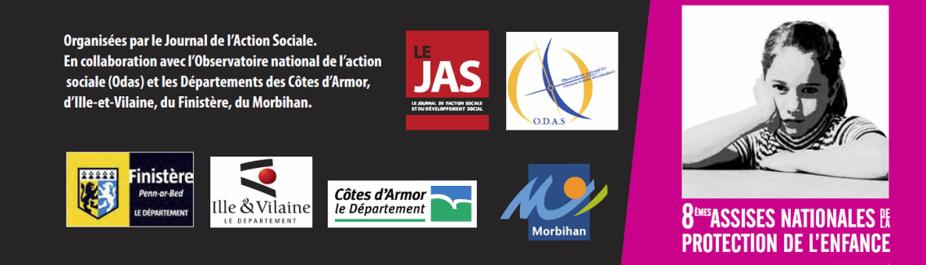 Les 8e Assises Nationales de la Protection de l'Enfance auront lieu les 15 et 16 juin 2015 à Rennes