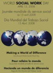 Ce 15 avril est la Journée  Internationale des travailleurs Sociaux