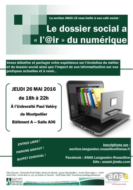 Café Social organisé par la section Languedoc Roussillon le 26 mai 2016