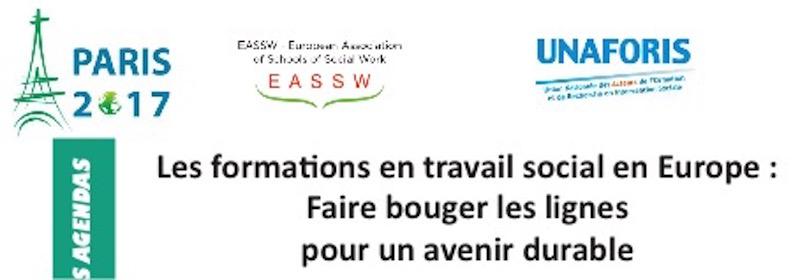 A vos agendas ! Conférence de l'EASSW en juin 2017