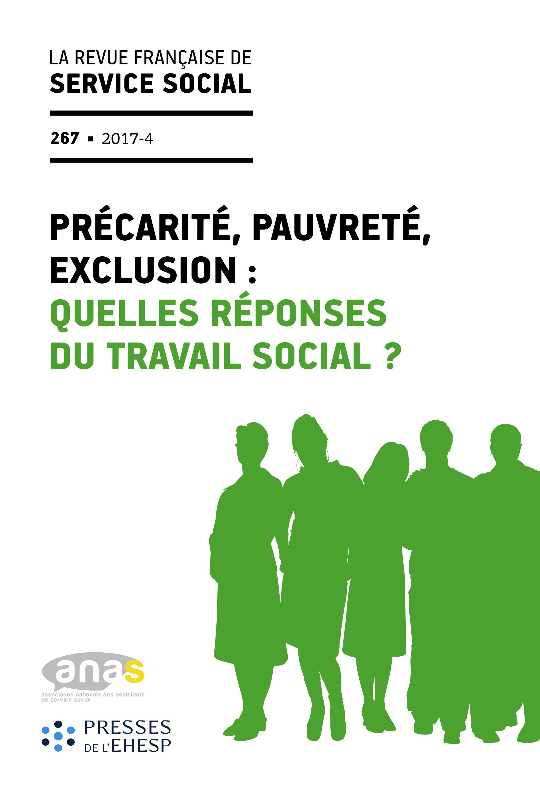 """RFSS N°267 : """"Précarité, Pauvreté, Exclusion : Quelles réponses du travail social ?"""""""
