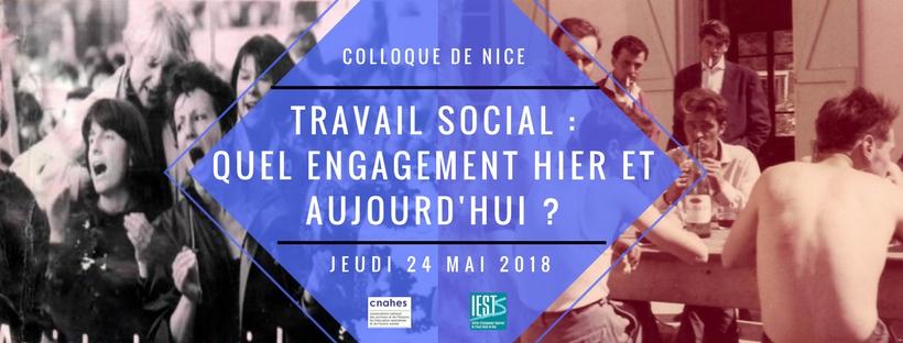 Colloque national du 24 mai sur le thème de l'engagement dans le travail social par le CNAHES