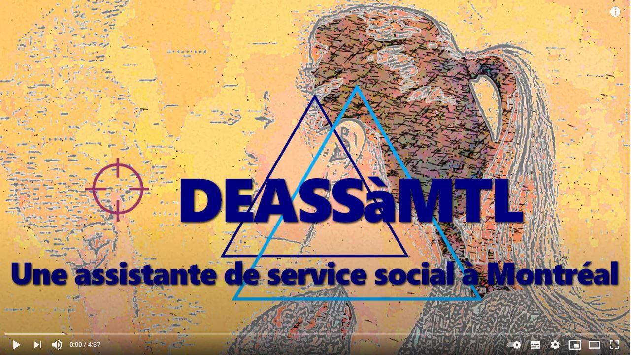 Une assistante de service social à Montréal