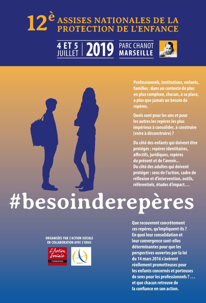 4 et 5/7/2019 - Marseille - 12èmes Assises nationales de la protection de l'enfance
