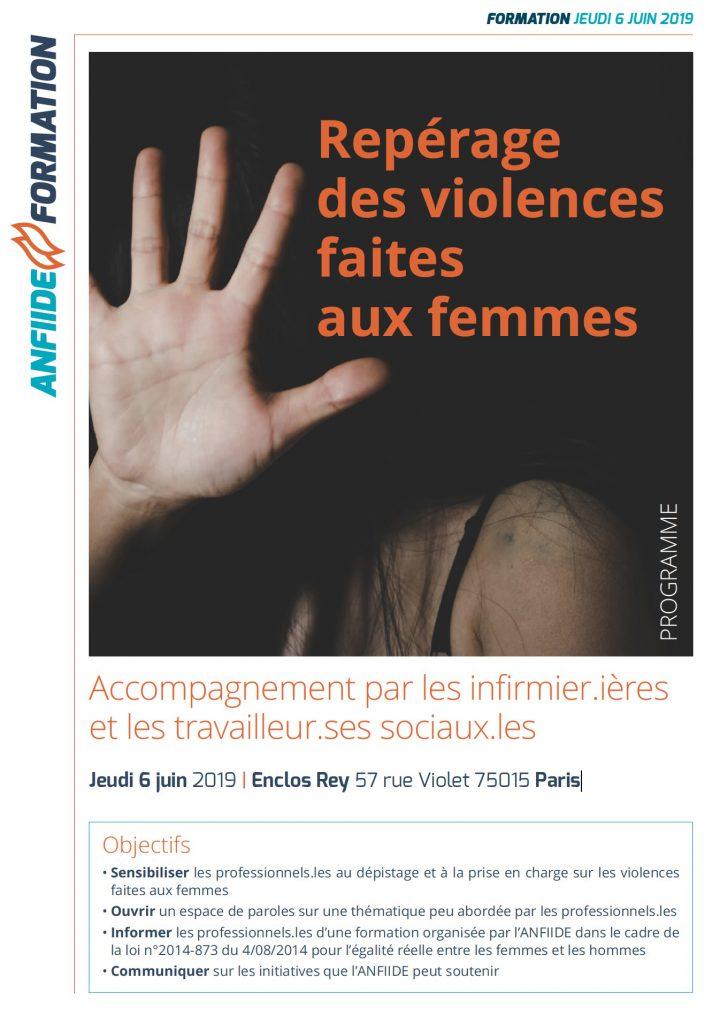 2/04/2019 - Paris - Repérage de la maltraitance et de la violence faite aux femmes, et conduite à tenir