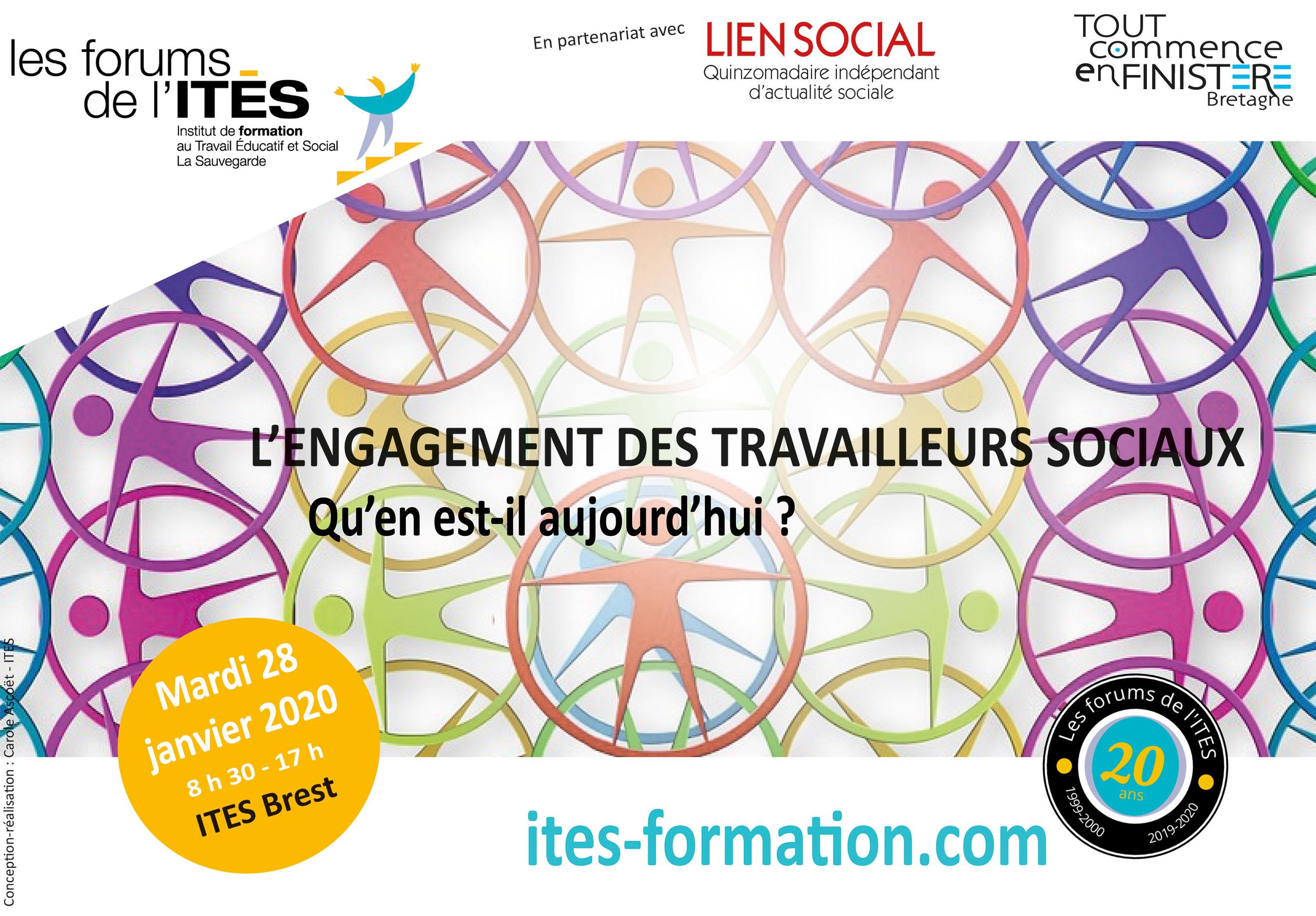 28/01/2020 - Brest - L'engagement des travailleurs sociaux : Qu'en est-il aujourd'hui?