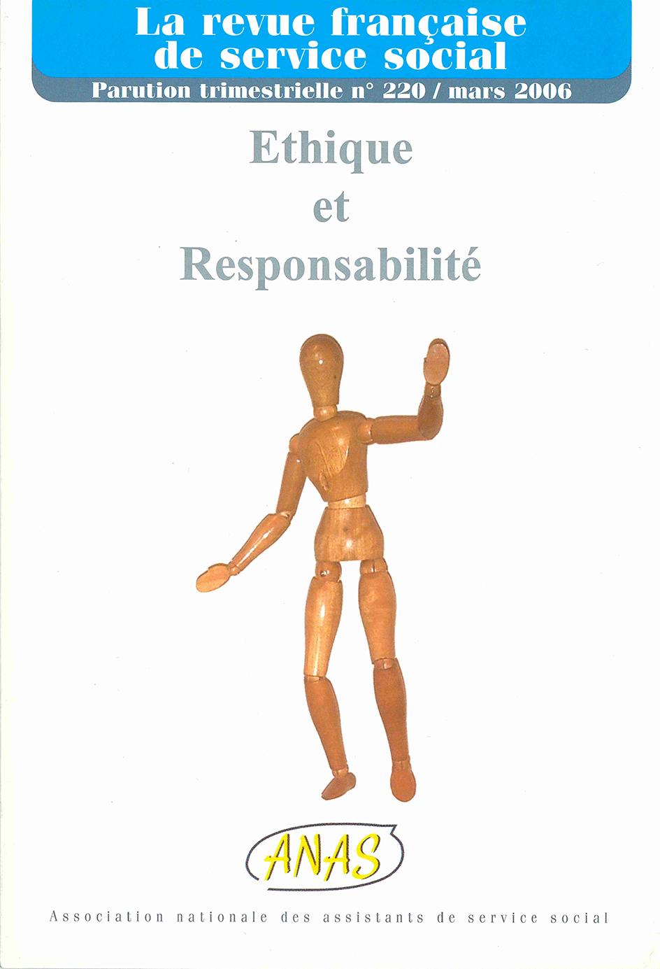 """RFSS N°220 : """"Ethique et Responsabilité"""""""