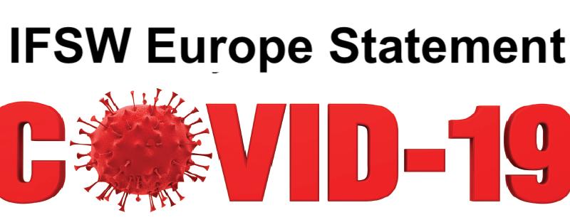 Déclaration de l'IFSW Europe sur la COVID 19