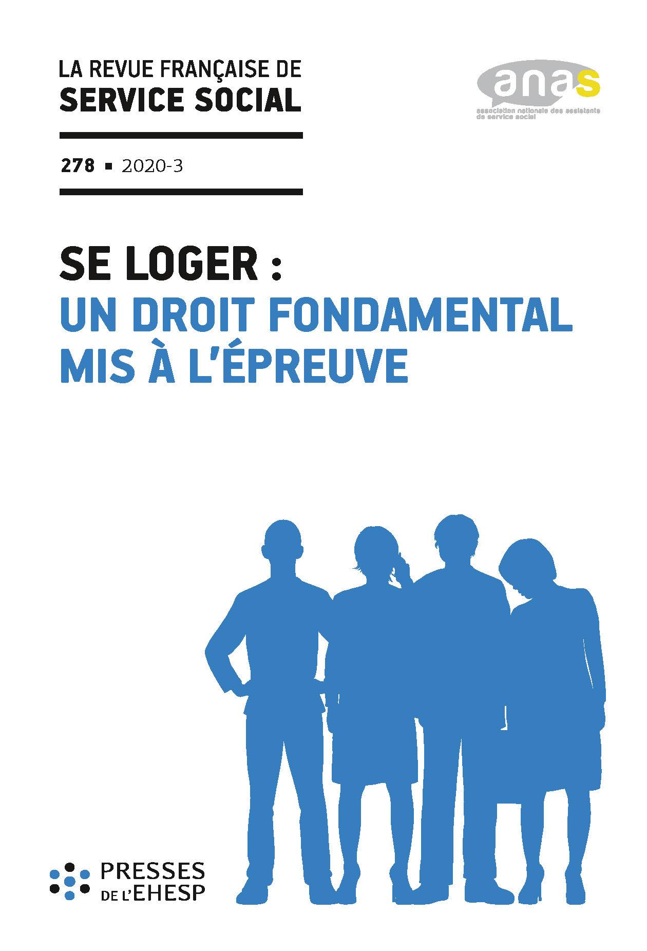 """RFSS N°278 : """"Se loger : un droit fondamental mis à l'épreuve"""""""