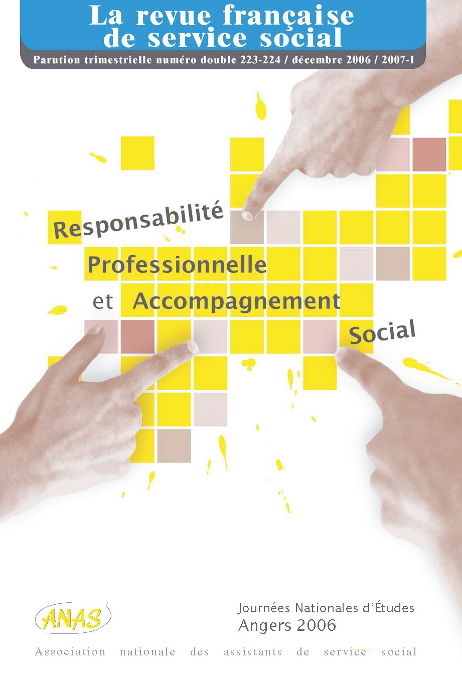 """RFSS N°223-224 : """"Responsabilité professionnelle et accompagnement social"""""""