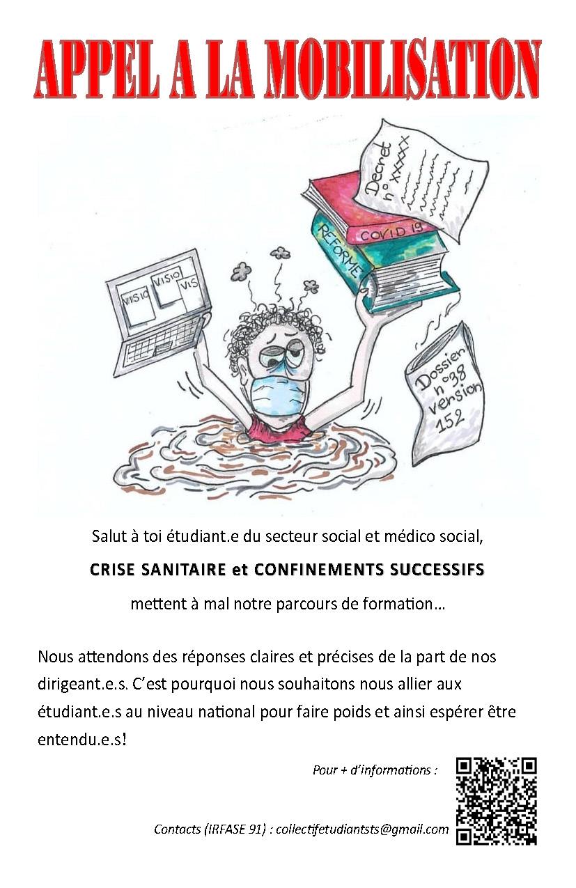 Appel à mobilisation des étudiant.e.s en travail social