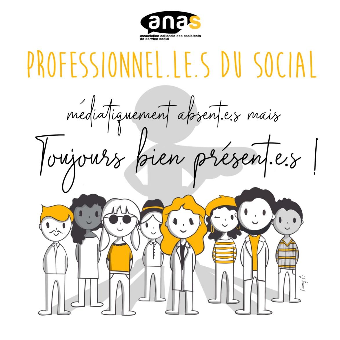 L'ANAS : une association 100 % bénévole. C'est le moment d'adhérer ou de ré-adhérer
