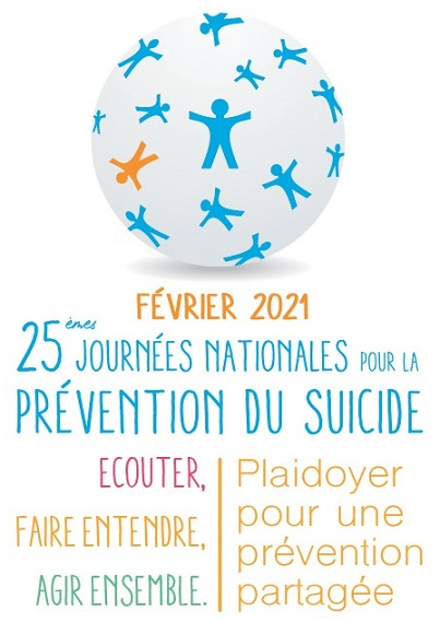 """25èmes journées nationales pour la prévention du suicide : """" Ecouter, Entendre, Agir ensemble """" FORUM DIGITAL"""