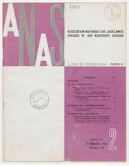 Présentation de la Revue Française de Service Social