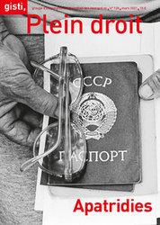 [Gisti-info] « Apatridies », le n° 128 de la revue Plein Droit vient de paraître