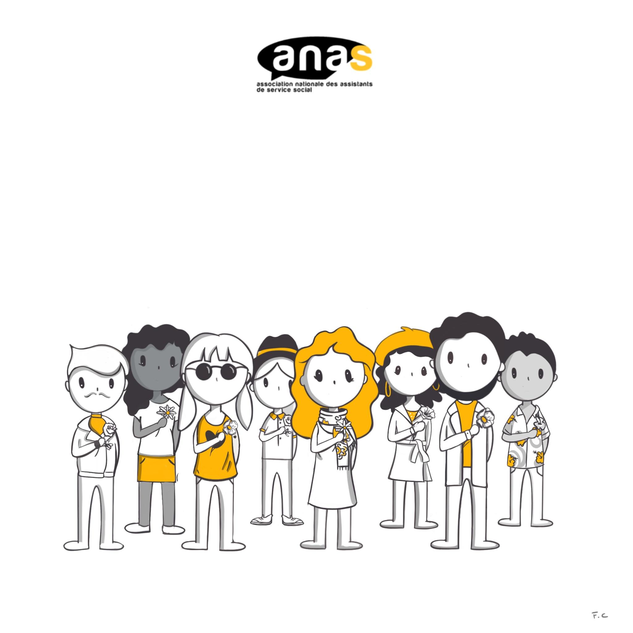 Illustration : Fanny Cé. ANAS - Tous droits réservés