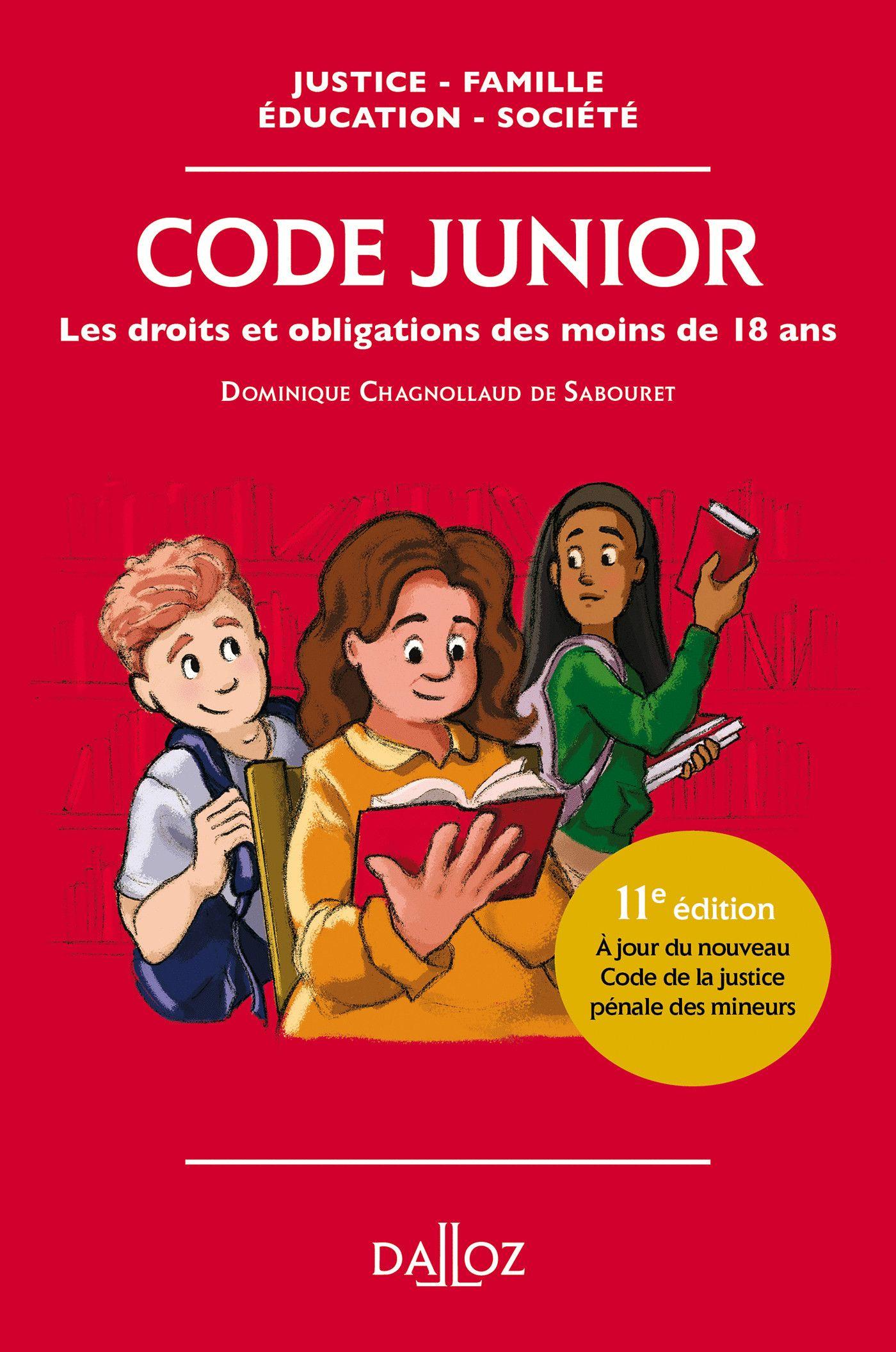 Code junior - Les droits et obligations des moins de 18 ans