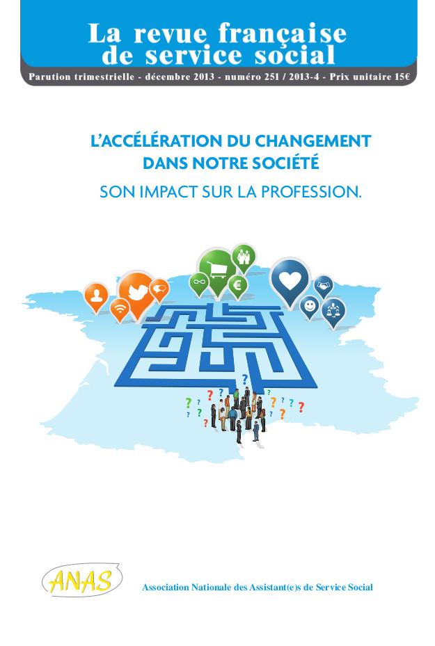 """RFSS N°251: """"L'accélération du changement dans notre société : son impact sur la profession"""""""
