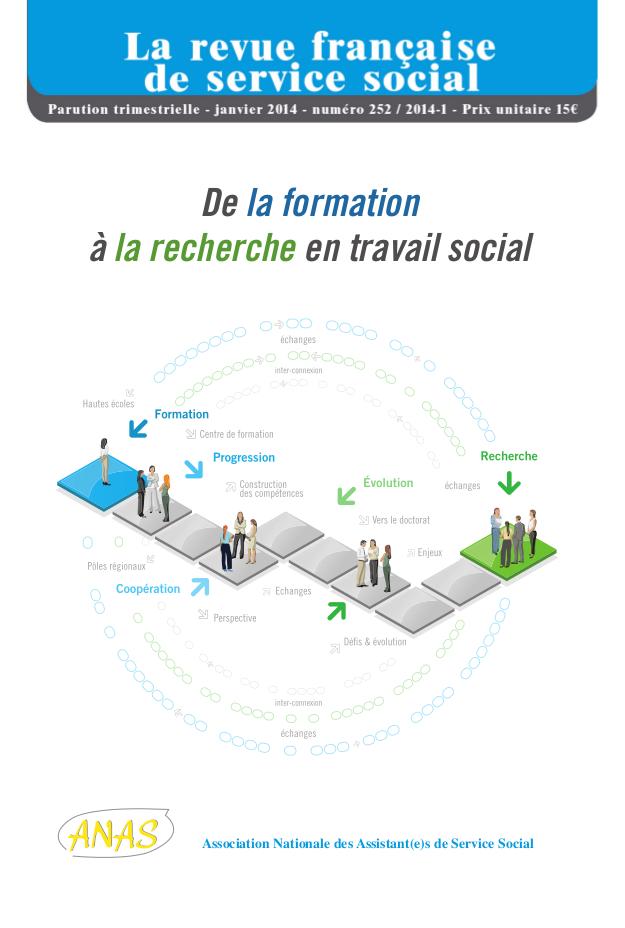 "RFSS N°252 : ""De la formation à la recherche en travail social"""