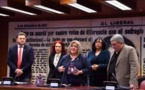 Ana LIMA, Présidente de la FITS Europe, récompensée