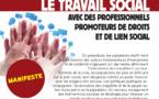Manifeste des travailleurs sociaux  à l'initiative de 4 syndicats