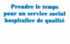 """RFSS N°212 : """"Prendre le temps pour un service social hospitalier de qualité"""""""