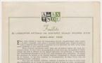 Feuillets de l'Association Nationale des Assistantes Sociales Diplômées d'Etat - Avril - Mai 1946
