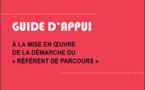 """Guide d'appui à la mise en œuvre de la démarche du """"référent de parcours"""""""